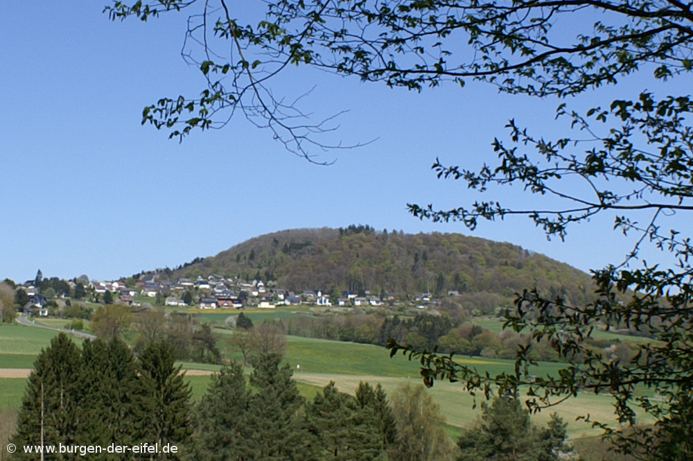 Burg Aremberg, Blick auf den Aremberg
