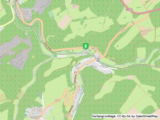 Lageplan Burg Dalbenden