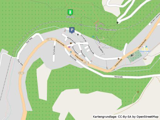 Lageplan der Philippsburg in Monreal