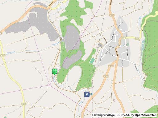 Lageplan Wasserfall Dreimühlen